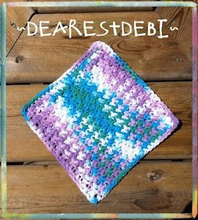 Easy Peasy Dishcloth