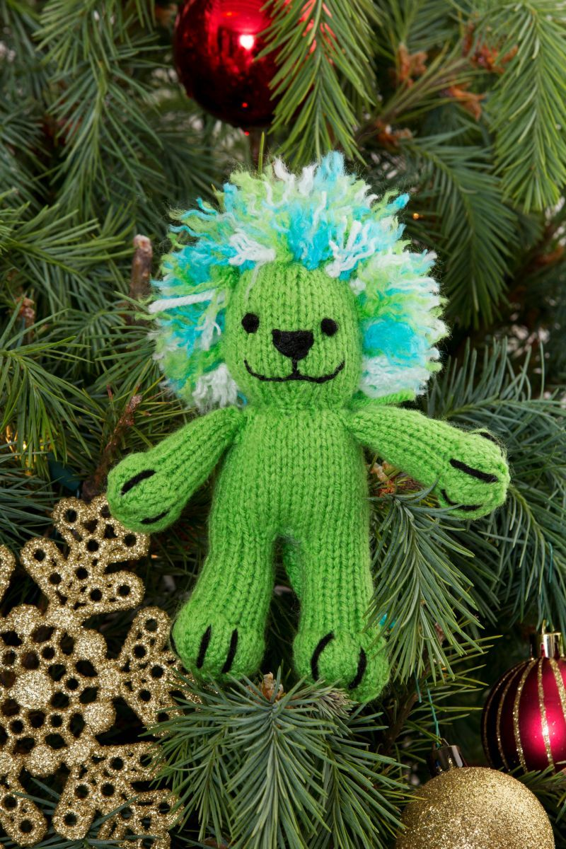 Leonara the Lion Ornament FaveCrafts