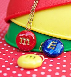 Candy-Coated Necklaces