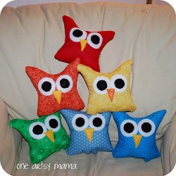 Mini Owl Pillows
