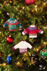 Noel Knit Sweater Ornaments