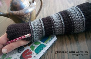 All Grown Up Arm Warmers