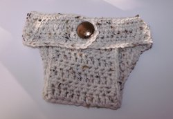 Ribbed Diaper Cover