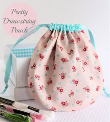 Pretty Drawstring Pouch