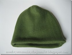 Easy Layered Fleece Hat