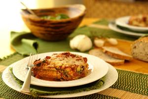 Rustic Eggplant Lasagna