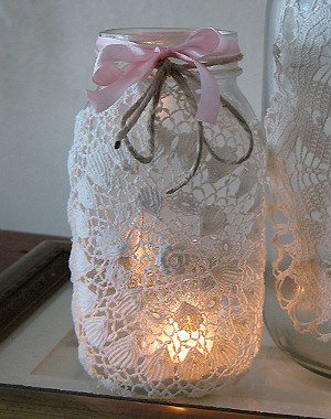 Rustic and Romantic Luminaries