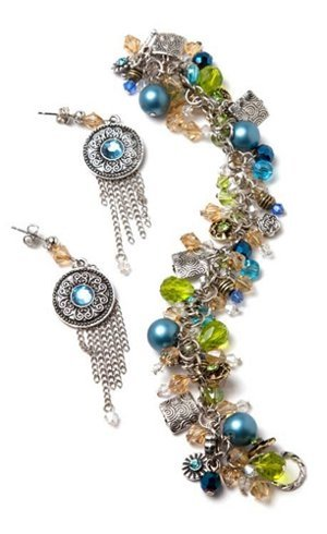 tickle me turquoise jewelry set