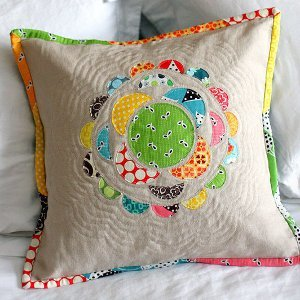 Scrapalicious Throw Pillow
