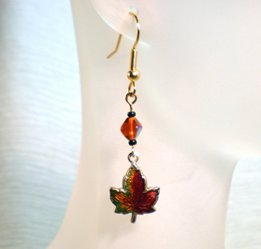 Marvelous Maple Leaf Earrings