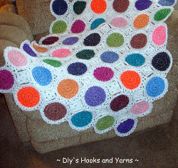 Candy Drops Blanket