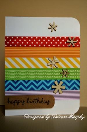 Washi Tape Cards Favecrafts Com
