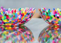 Mosaic Melted Bead Bowl