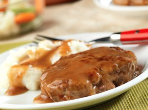 Shoestring Budget Weeknight Salisbury Steak