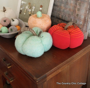Slouchy Sweater Pumpkins