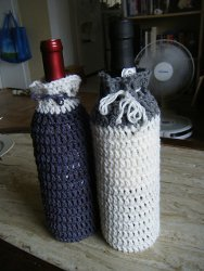 One Hour Wine Bottle Cozy