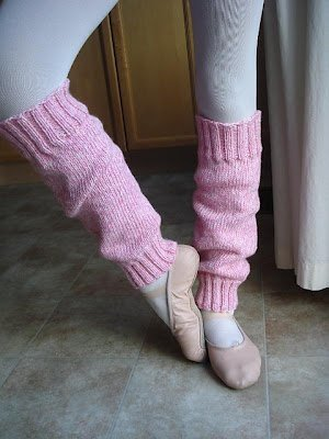 Easy Peasy Ballerina Leg Warmers
