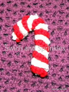 Small Candy Cane Ornament