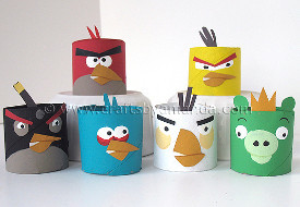 Toilet Tube Angry Birds