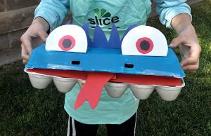 Egg Carton Monster Man Allfreekidscrafts Com