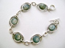 Enchanting Blue-Eyed Bracelet
