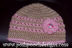 Pink Ribbon Chemo Beanie Allfreecrochet Com