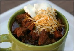 Meat Lover's No Bean Chili