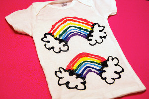 Simple Rainbow Shirt