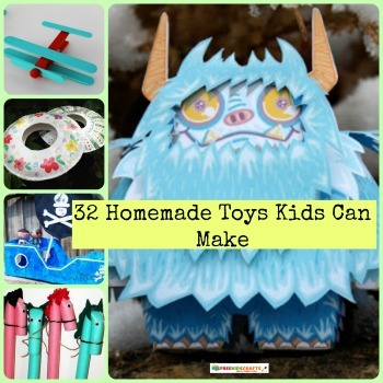 Homemade Toys Kids Can Make