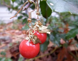 Super Simple Ornament Earrings