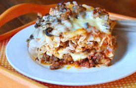 Loaded Cheesy Meaty Casserole