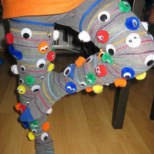 sock craft ideas googlie socks allfreekidscrafts 2966