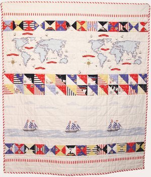 Out to Sea Baby Quilt