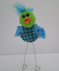 Plastic Bottle Cap Bird