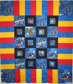 Mini Transformers Frame Quilt