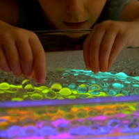 Neon Glowing Water Beads