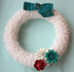 Vintage Winter Wreath