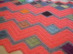 Crazy Ripple Blanket