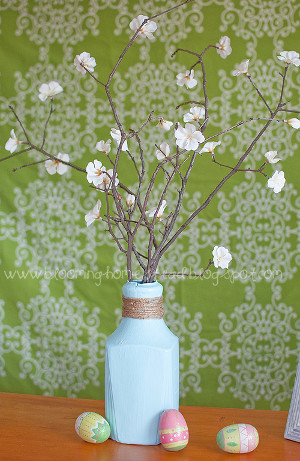 Recycled Bottle Vase