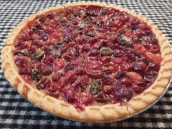 Simple Cranberry Pie