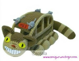 Crochet Cat Bus