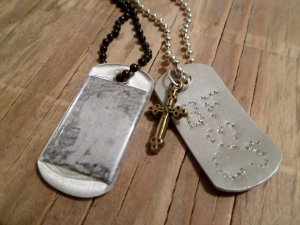 Personalized Dog Tag Necklace Tutorial