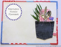 Australia Day Placemat Tutorial