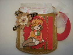 Chic Cardstock Gift Pocket