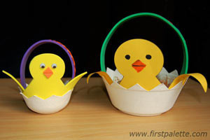 Charming Chick Easter Basket