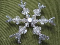 Pretty Crystals Snowflake