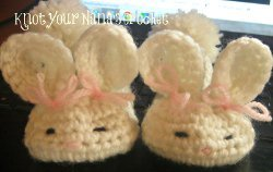 Baby Bunny Slippers [Crochet Patterns, Free Crochet Patterns and ... | 158x250