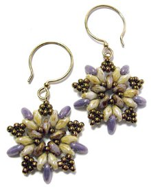 Starburst Beaded Earrings