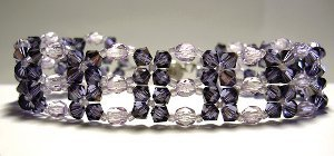 Purple Haze Bead Bracelet Pattern