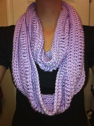 Enchanted Orchid Cowl